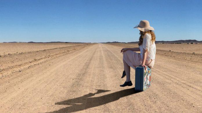 Giovani all'estero - valigia in mano