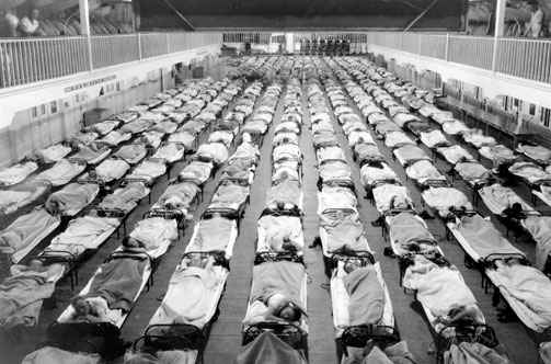 Coronavirus epidemia spagnola