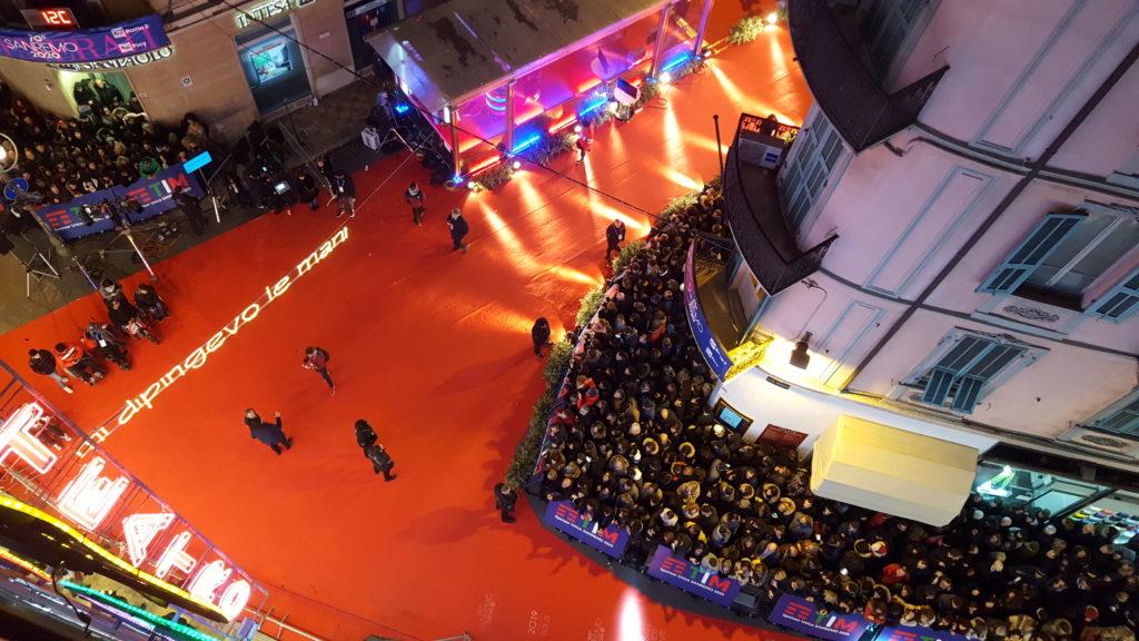 ITA TL Sanremo 2020 red carpet