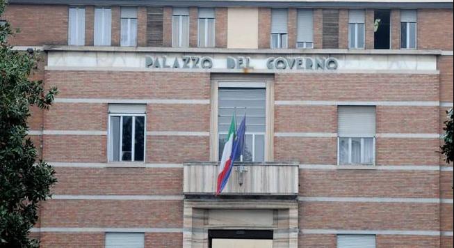 Il palazzo della prefettura di Pavia