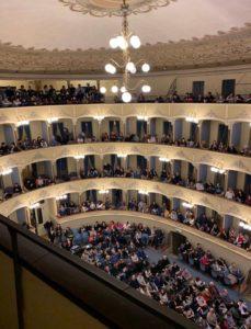 Teatro Cagnoni visto dall'alto