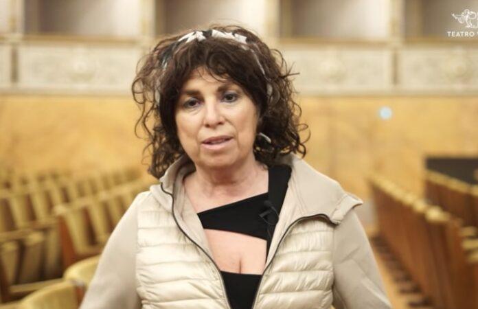 La regista Cristina Pezzoli