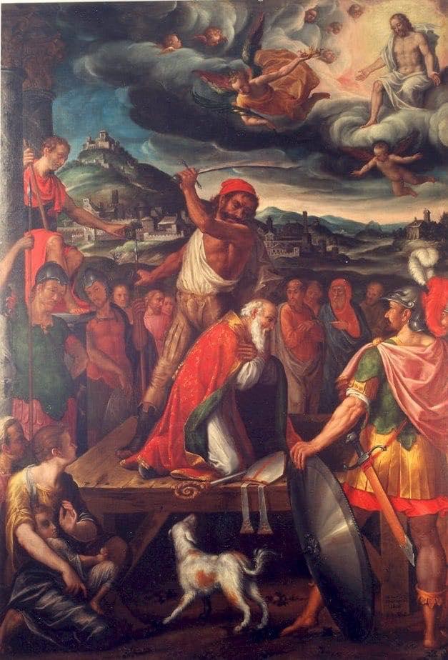 Il martirio di San Marziano