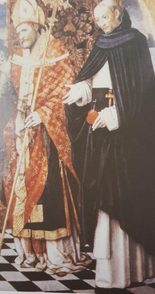 Sant'Ambrogio e il Beato Matteo