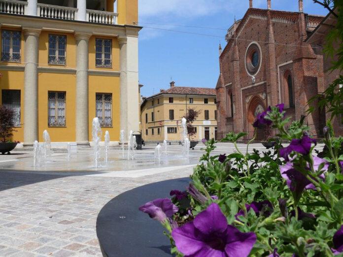 Il centro storico di Mortara