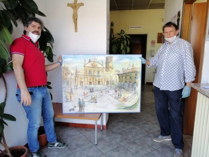 quadro caritas giovanni bossi (a destra)