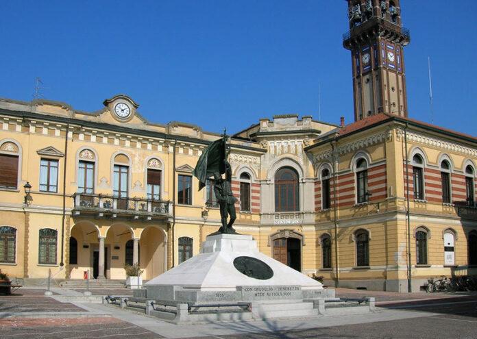 Il municipio di Mede