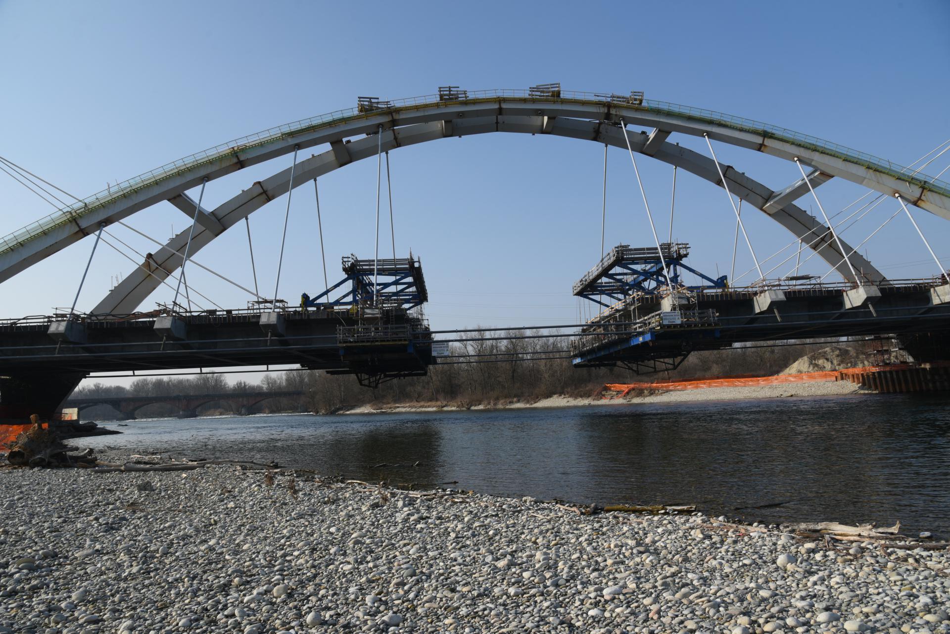 Infrastrutture nuovo Ponte sul Ticino vigevano