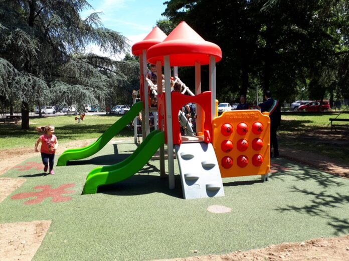 giochi nuovi parco vigevano
