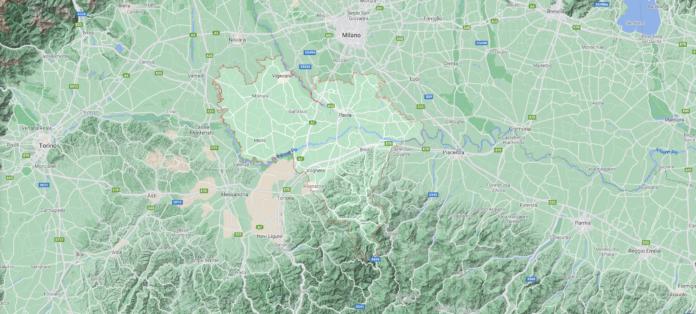 Provincia di Pavia - mappa