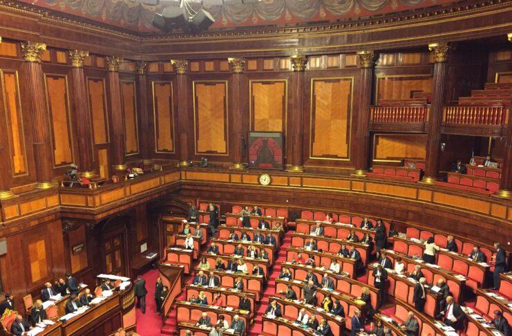 OSS Coronavirus 22-01 - Senato Palazzo Madama