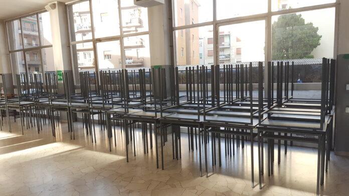 Scuola superiori - banchi