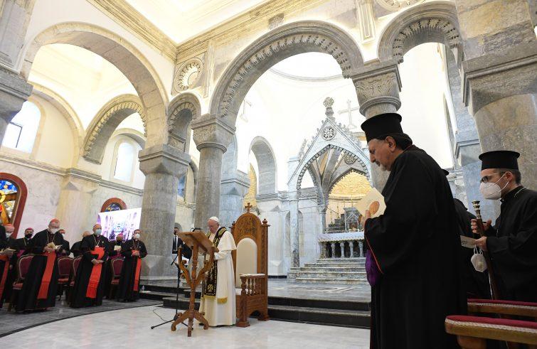 Osservatorio 12-03 Papa Francesco - messa Iraq