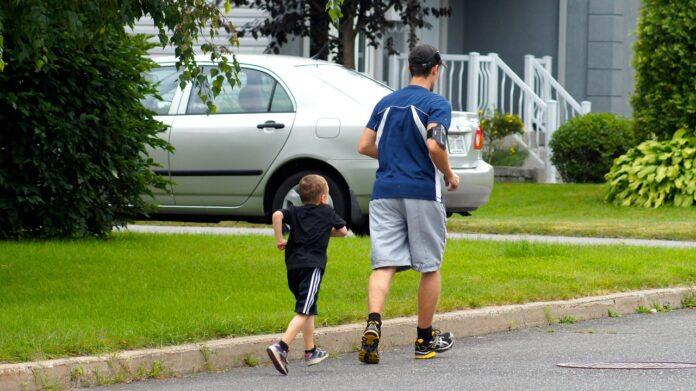 COR Attività fisica - corsa padre e figlio