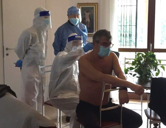 Coronavirus Ats Pavia - operatori USCA