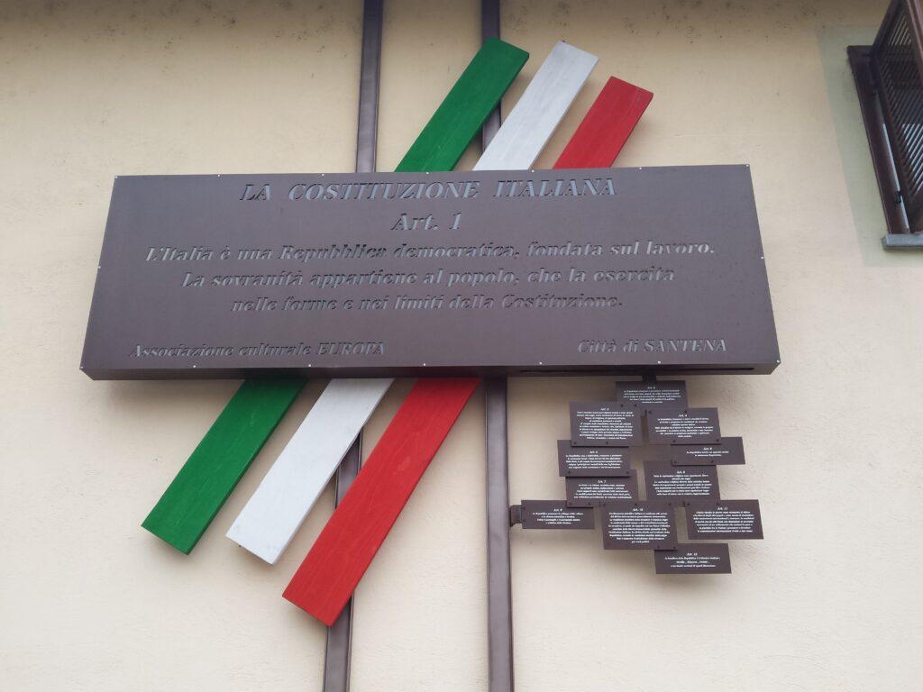 Costituzione Italiana - art 1