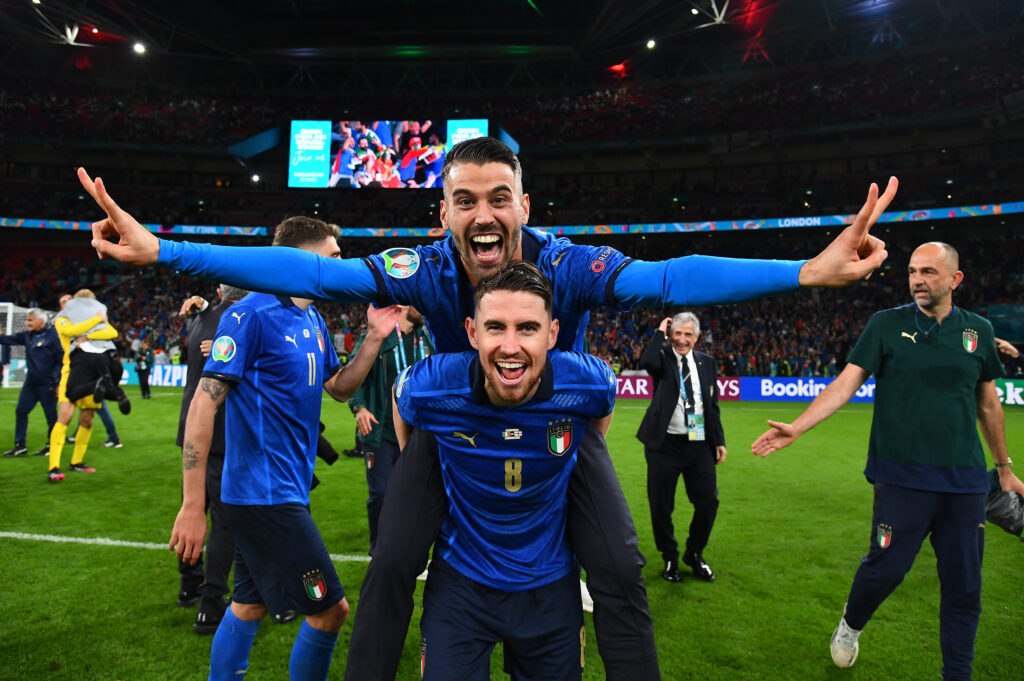 SPORT Euro 2020 - Spinazzola e Jorginho