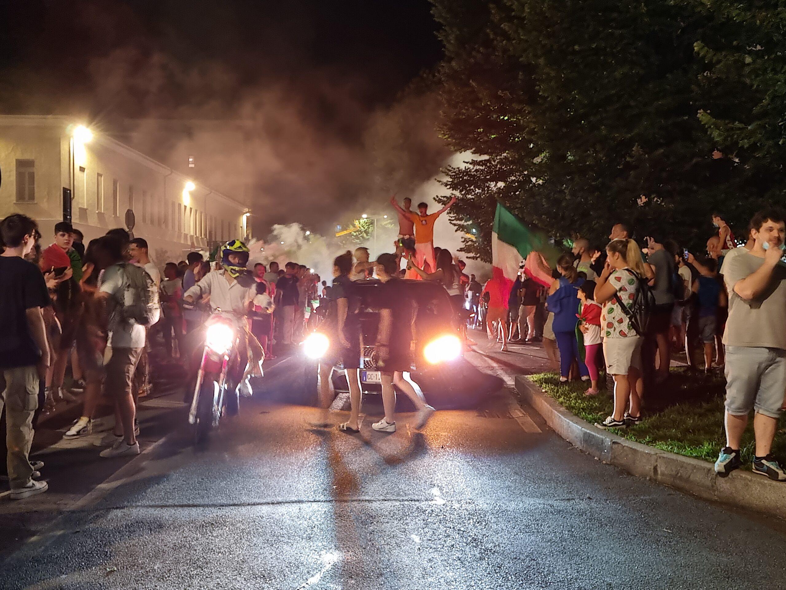 21 SPORT Euro 2020 - auto piazza sant'Ambrogio