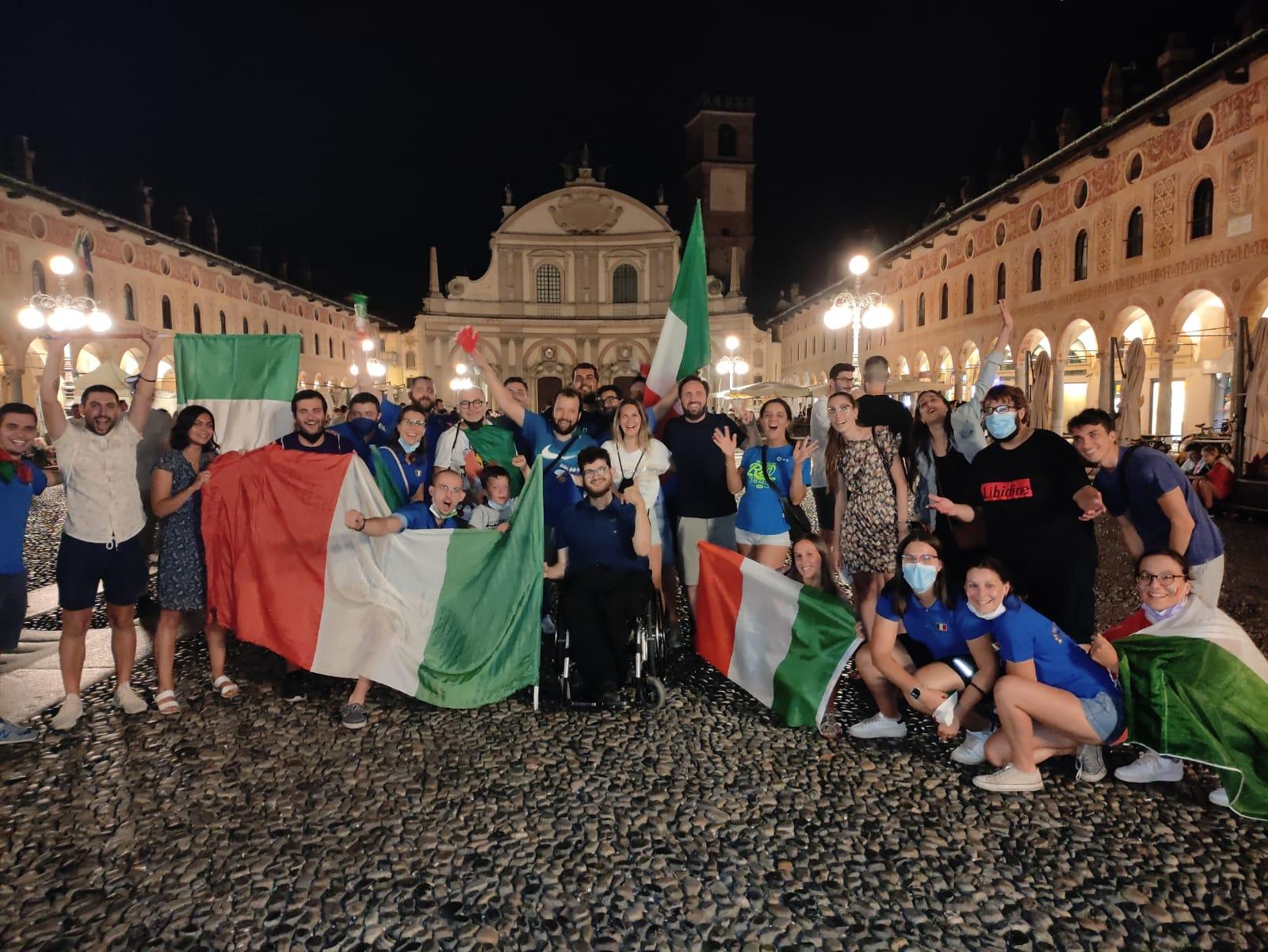 21 SPORT Euro 2020 - la festa in Piazza