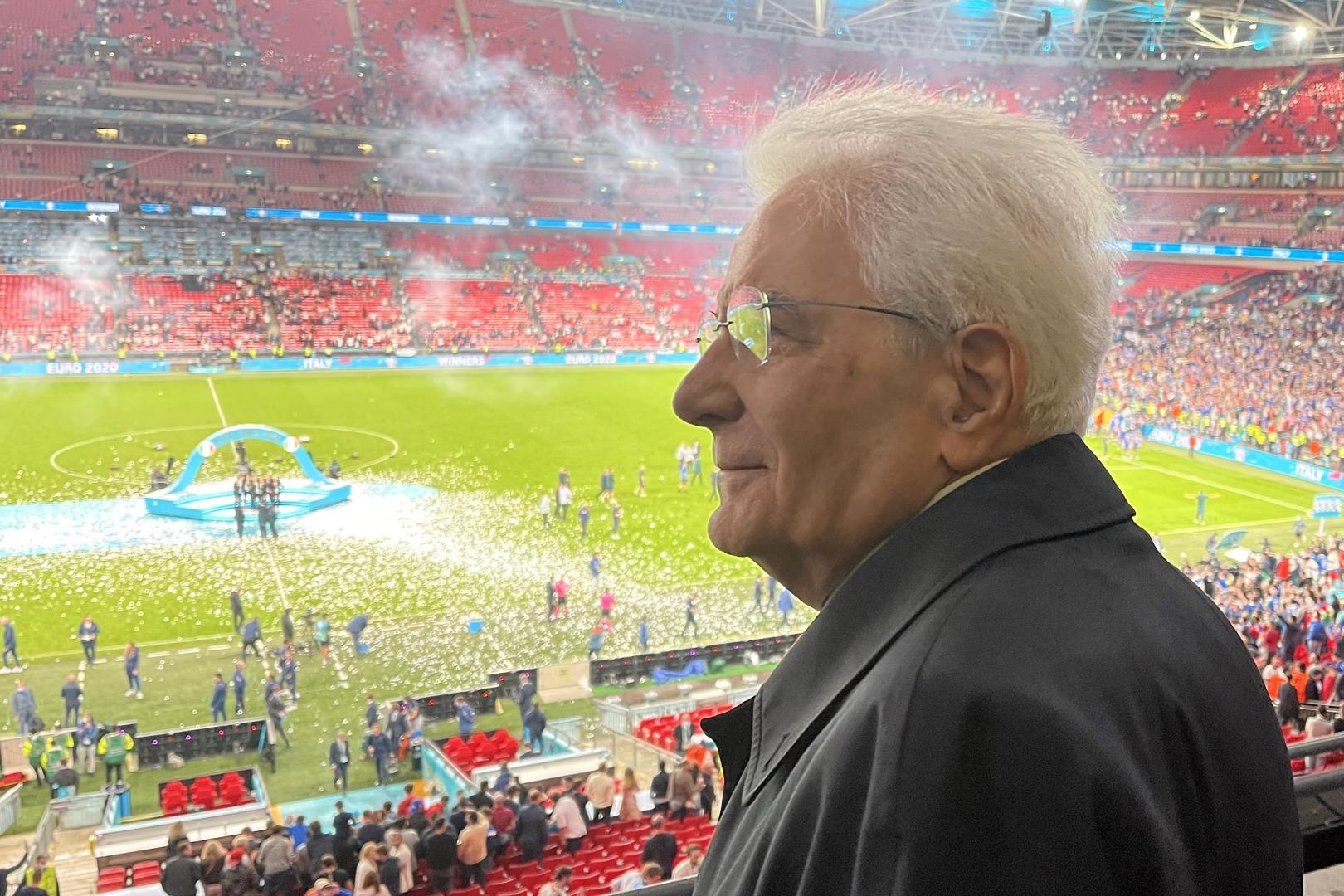 21 SPORT Euro 2020 - mattarella Wembley